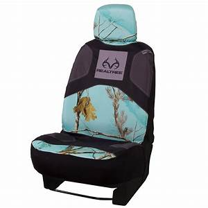 Realtree Mint Camo Low Back Bucket Seat Cover Realtree