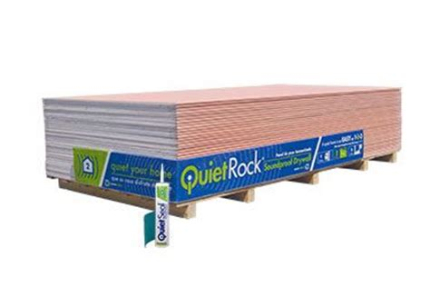 soundproof drywall quietrock soundproof drywall available at lowe s quiet please pinterest
