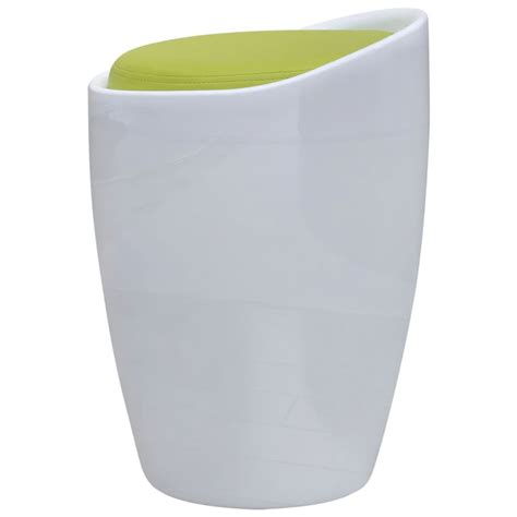 siege rond acheter tabouret abs rond blanc avec siège amovible vert