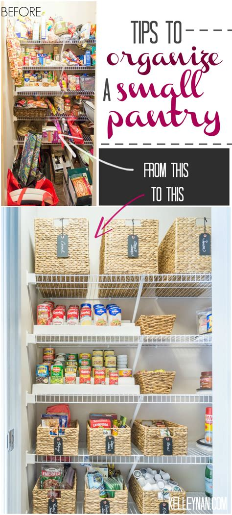 kitchen closet organization ideas nine ideas to organize a small pantry with wire shelving 6554