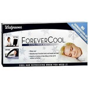 walgreens forever cool small gel mat 1 ea health personal care