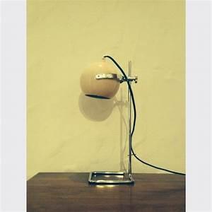 Lampe Italienne Pipistrello : lampe eyeball italienne de bureau des ann es 70 m tal gris bon tat vintage 13894 ~ Farleysfitness.com Idées de Décoration
