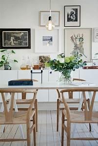 quelle deco salle a manger choisir idees en 64 photos With salle À manger contemporaine avec meuble scandinave bois