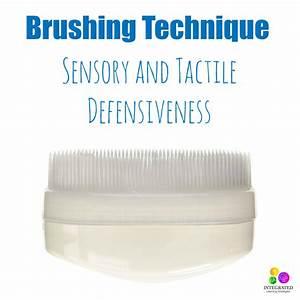 Brushing Technique for Sensory Tactile Defensiveness ...