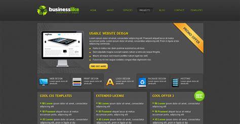css website templates 30 free premium css xhtml website templates freebies graphic design junction
