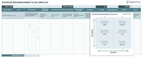 stakeholder register template template stakeholder analysis template