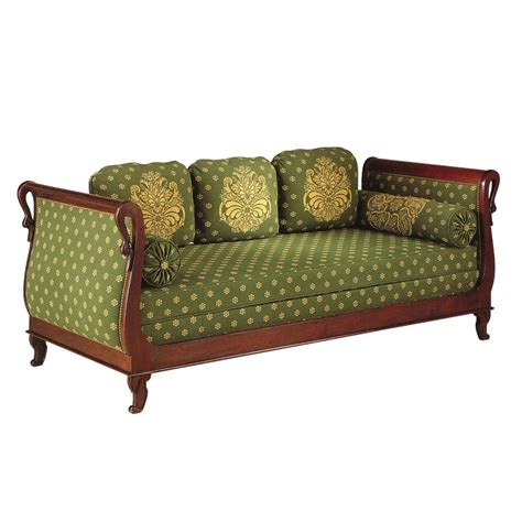 canapé de repos canapé lit de repos brifaudon style empire empire