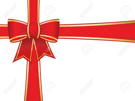 red christmas ribbon clipart clipartxtras