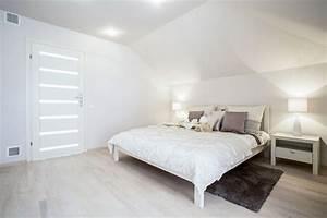 54, Amazing, All-white, Bedroom, Ideas