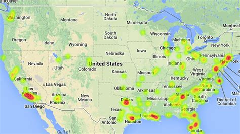 maps  charts show  college football