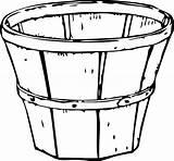 Barrel Apple Coloring Template sketch template