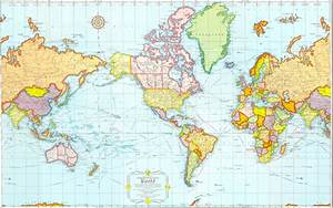 Travel Maps Of The World