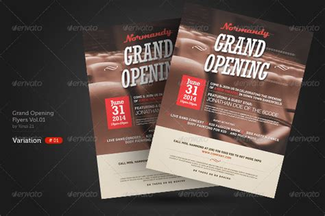 grand opening flyer template   document