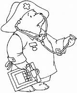 Nurse Coloring Doctor Paddington Pages Male Looking Preschool Drawing Getdrawings Printable Netart Getcolorings sketch template