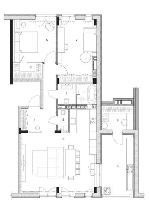 room floor plan two modern homes with rooms for small children with floor