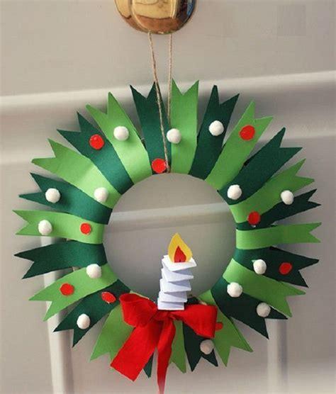 Новогодний домик из фетра красивая поделка на елку