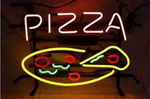 PIZZA Neon Light Signs air wall neon for pizza shop