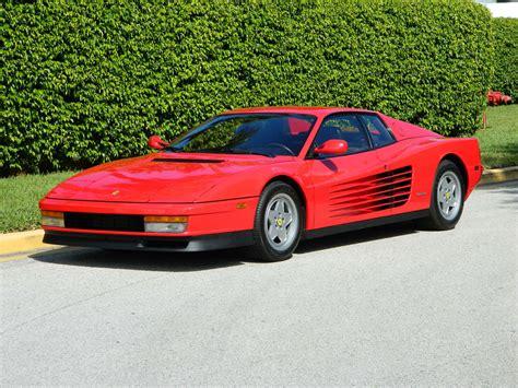 1990 Ferrari Testarossa  Hollywood Wheels Auction Shows