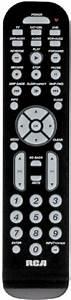 Rca Rcr6473 Six Device Universal Remote  Controls Tv  Sat