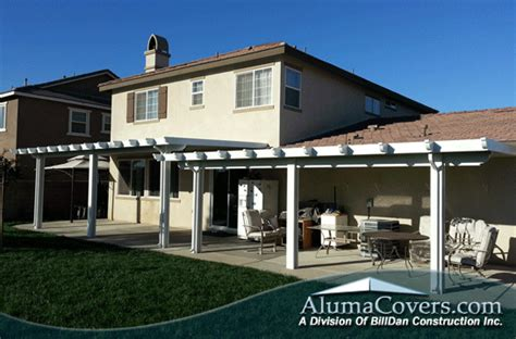 aluminum patio covers fontana