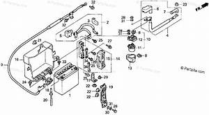 Honda Motorcycle 1996 Oem Parts Diagram For Battery