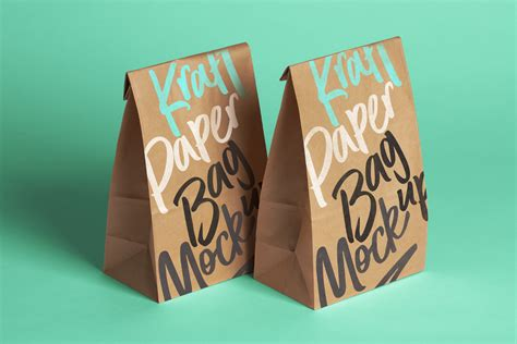 All free mockups include smart objects for easy edit. Psd Kraft Bag Packaging Mockup | Psd Mock Up Templates ...