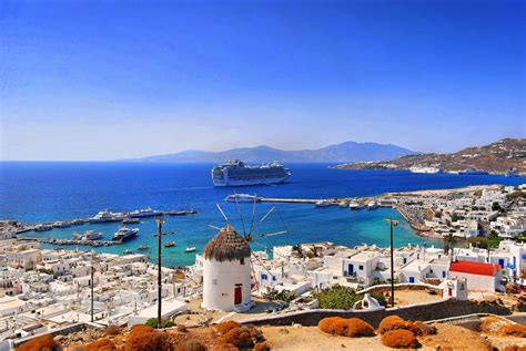Mykonos Island In Greece Thousand Wonders