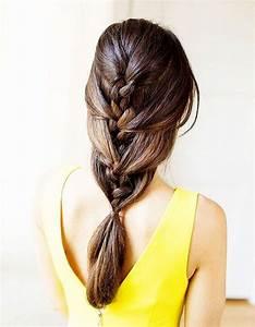 Coiffure Tresse Facile Cheveux Mi Long : des id es de coiffures faciles elle ~ Melissatoandfro.com Idées de Décoration