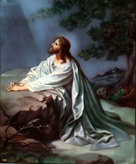 jesus praying in the garden agony in the garden of gethsemane children s church