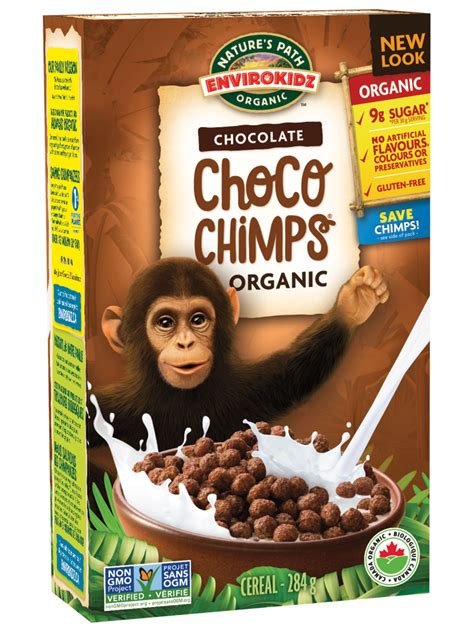 Cereal Choco choco chimps cereal nature s path