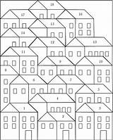 Coloring Hillside Quilt Houses Sheet Quilts Patterns Block Pretty Quilting Little Blocks Pattern Patchwork Piecing Paper Sheets Bloglovin Projects Easy sketch template