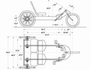 Quadricycle Plans Shown In The Plans Above