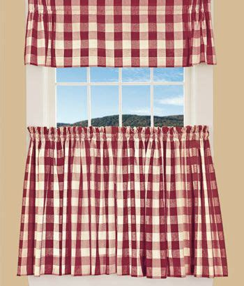 buffalo check tier curtains this is it