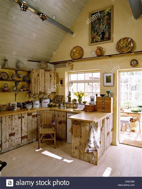 country rustic kitchens rustic country kitchen with salvaged wood cupboards a 2959