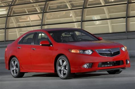 acura tsx  car review autotrader
