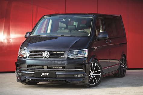 vw t6 abt this bulli can do it all in a sporty way the new abt t6