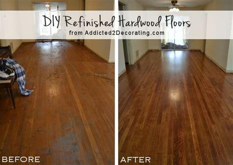 refinishing hardwood floors diy diy refinish hardwood floors house designing ideas