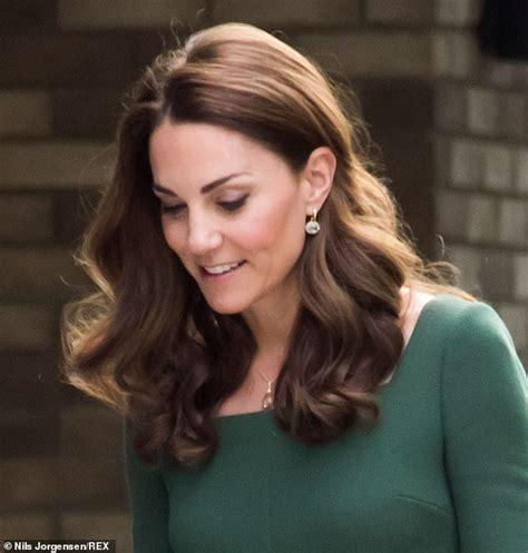 Kate Middleton Has Returned Her Trademark Long Bouncy