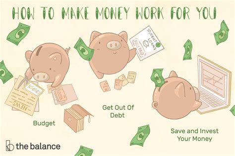 best ways to make money top 3 ways to make your money work for you