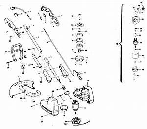 32 Craftsman Weed Wacker Parts Diagram