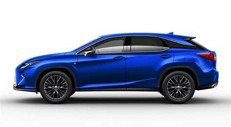 sporty lexus blue lexus heat blue rx