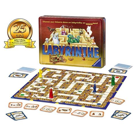 labyrinthe edition collector 25 ans ravensburger king