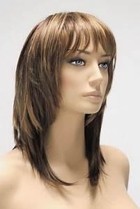 Coupe Cheveux Longs Femme : coupe de cheveux mi long femme avec frange ~ Dallasstarsshop.com Idées de Décoration