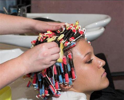 hair permed google search lockenwickler
