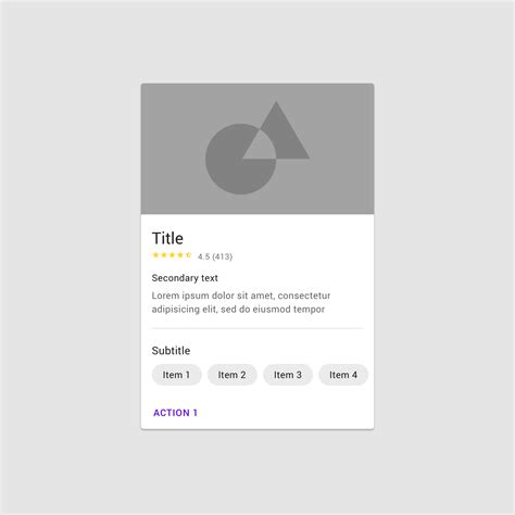 cards  images material design cards card layout