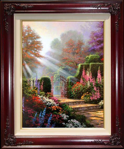 garden of grace garden of grace 30x24 s n framed limited kinkade