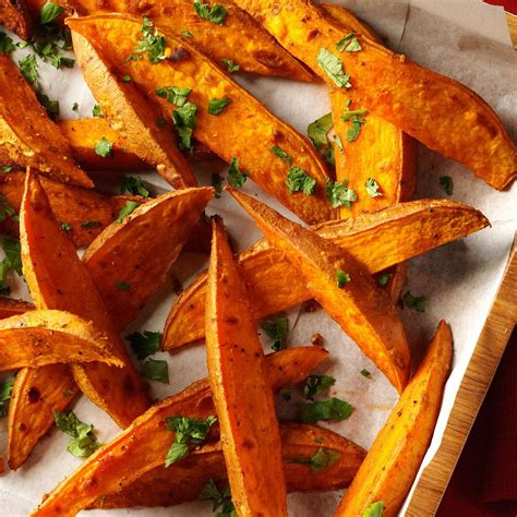 curried sweet potato wedges recipe taste  home