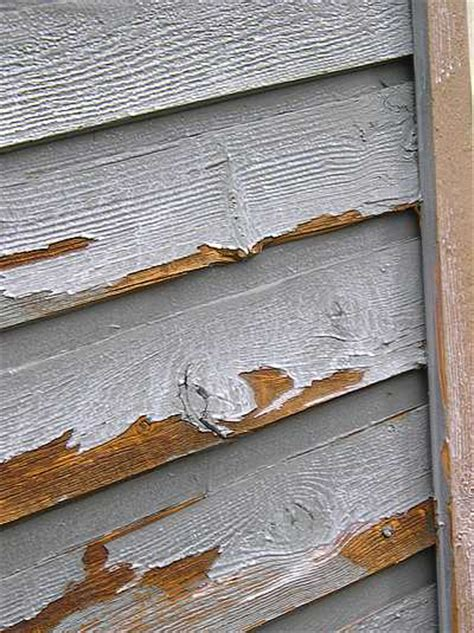 exterior peeling paint