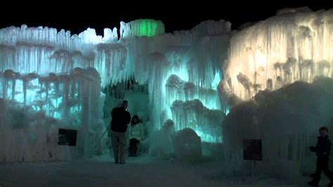 ice castles  silverthorne colorado march  youtube