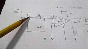 Led Strobes To The Music Beat - Simple Circuit